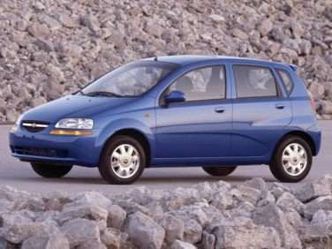 2004 Chevrolet Aveo 
