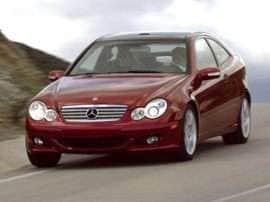 2004 Mercedes-Benz C-Class Kompressor Sport C230 2dr Coupe