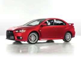 2010 Mitsubishi Lancer Evolution GSR 4dr Sedan