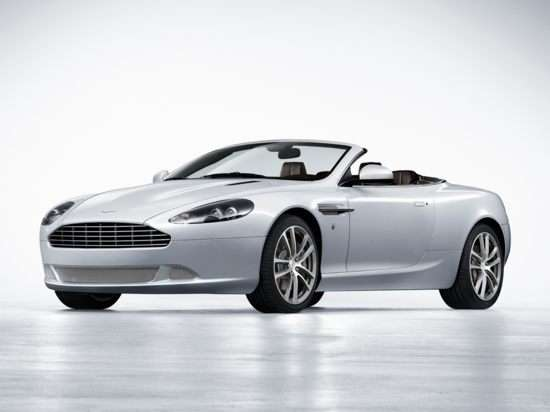 2012 Aston Martin DB9 Luxury Edition Convertible
