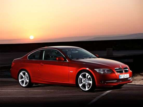 2012 Top Safety Pick: 2012 BMW 3 Series Sedan