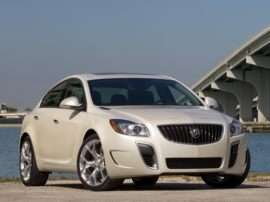 2012 Buick Regal Base 4dr Sedan