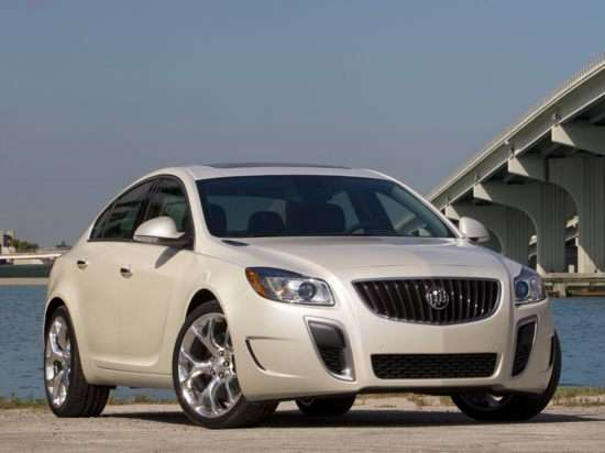 2012 Flex Fuel Vehicles List: Buick Regal