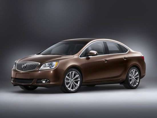 IIHS Names Buick Verano a Top Safety Pick