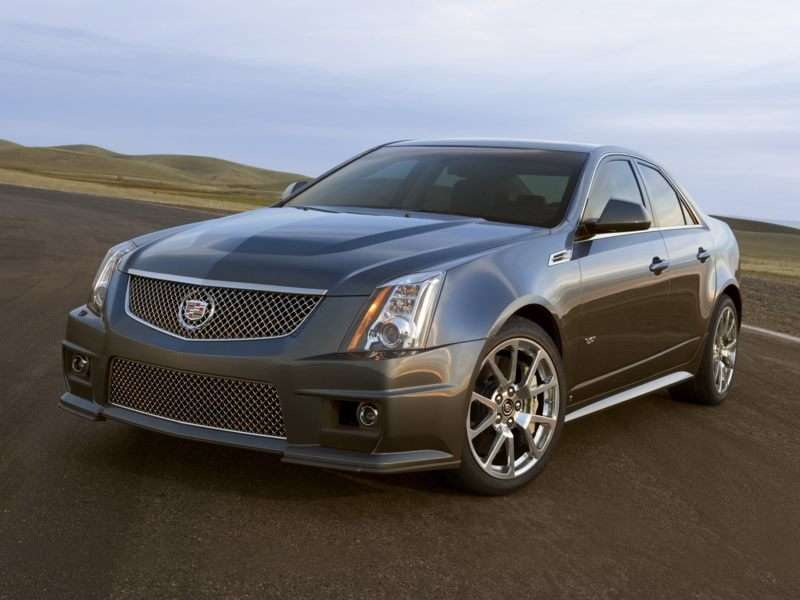 Research the 2013 Cadillac CTS-V
