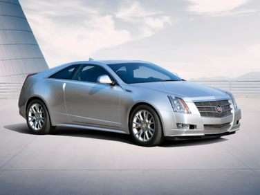 2012 Cadillac CTS Base RWD Coupe