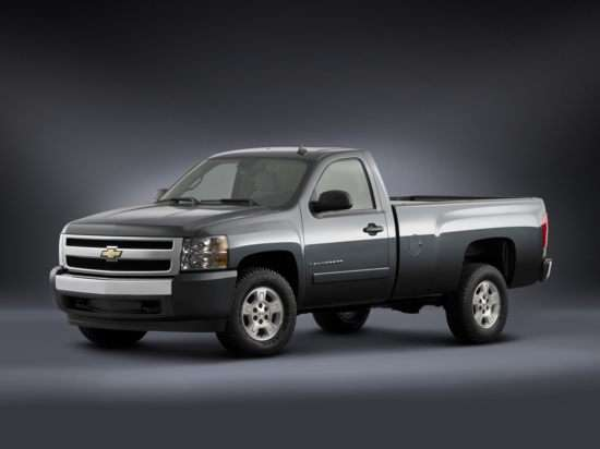 2012 Flex Fuel Vehicles List: Chevrolet Silverado