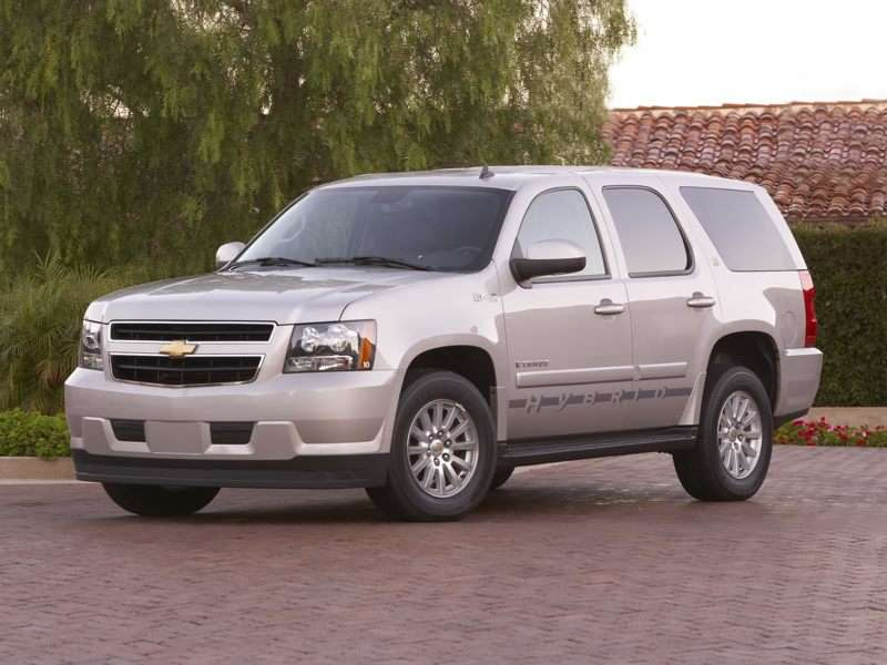 Research the 2013 Chevrolet Tahoe Hybrid
