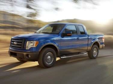 2012 Ford F-150 Lariat 4x2 Super Cab Styleside 6.5' Box