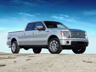 2012 Ford F-150 Platinum 4x2 SuperCrew Cab Styleside 5.5' Box