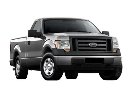 2012 Ford F-150 XL 4x4 Regular Cab Styleside 8' Box