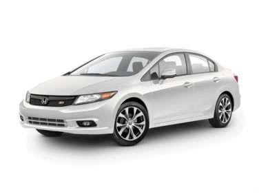 2012 Honda Civic Si (M6) Sedan