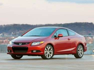 2012 Honda Civic Si w/Summer Tires (M6) Coupe
