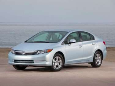 2012 Honda Civic Natural Gas With Navigation (A5) Sedan