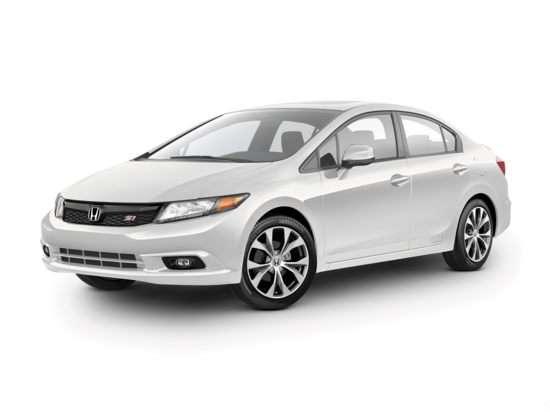 2012 Honda Civic Si With Navigation (M6) Sedan