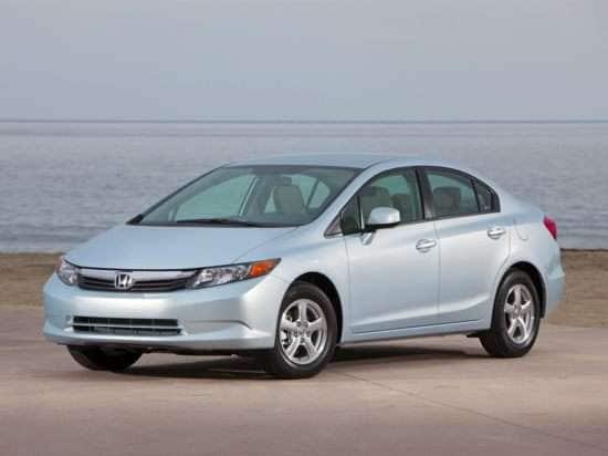 2012 Honda Civic Natural Gas With Navigation (A5) Sedan