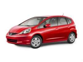 2012 Honda Fit Base 4dr Front-wheel Drive Hatchback