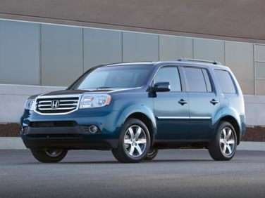 2012 Honda Pilot EX-L With Navigation FWD