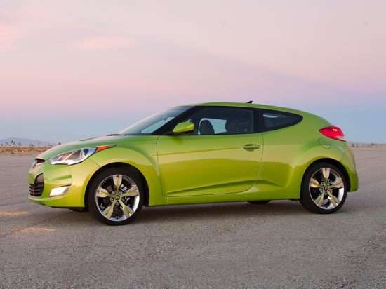 2012 Hyundai Veloster - Electrolyte Green