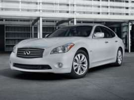 2012 Infiniti M35h Base 4dr Rear-wheel Drive Sedan