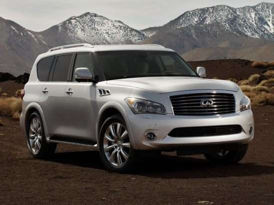 2012 Infiniti QX56 Video Road Test and Review