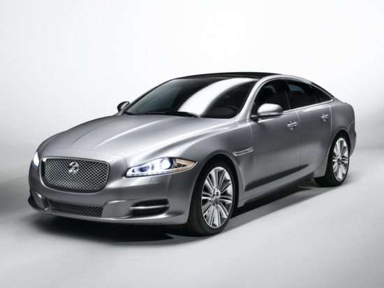 03.  Jaguar Says Goodbye To V-8 Engine In Base XJ Sedan