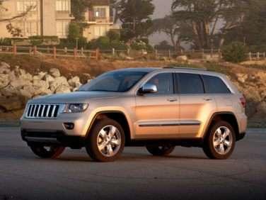 2012 Jeep Grand Cherokee Overland 4x2