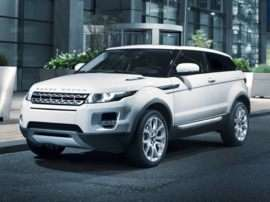 2012 Land Rover Range Rover Evoque Pure Plus All-wheel Drive Coupe