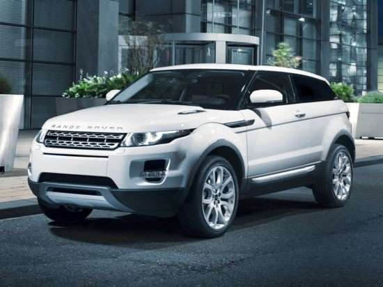 03. The 2012 Land Rover Range Rover Evoque Offers Affordable Luxury
