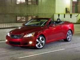 2012 Lexus IS 250C Base 2dr Convertible