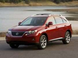 2012 Lexus RX 350 Base 4dr Front-wheel Drive
