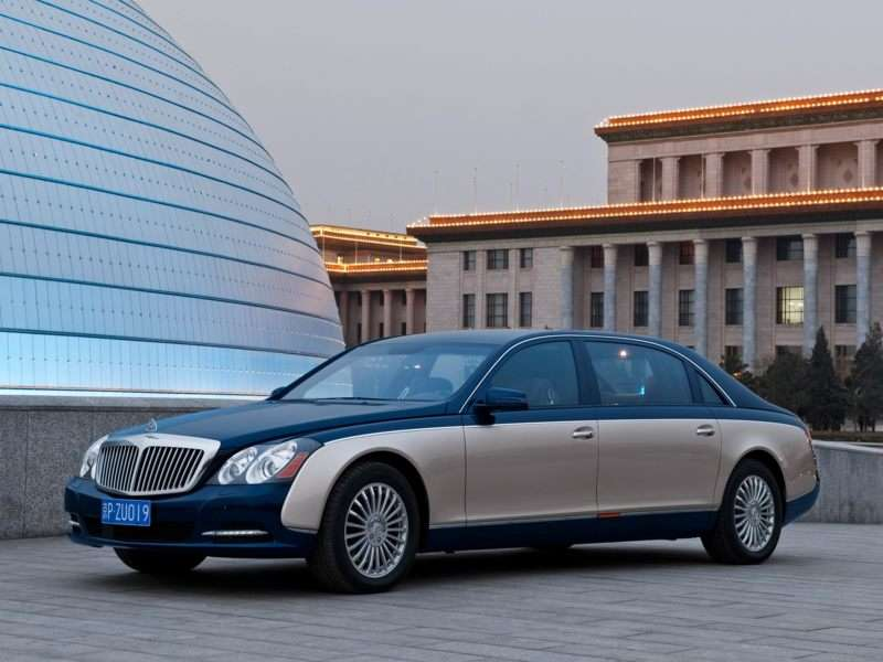 Research the 2012 Maybach 57
