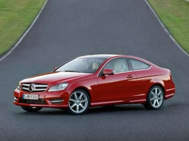 2012 Mercedes-Benz C-Class C350 RWD Coupe