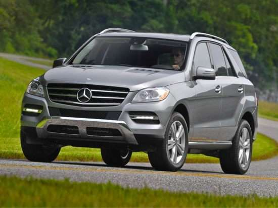 2012 Flex Fuel Vehicles List: Mercedes-Benz M-Class