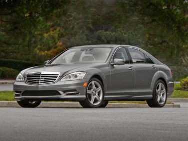 2012 Mercedes-Benz S-Class S550 RWD Sedan
