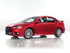 2012 Mitsubishi Lancer Evolution GSR 4dr Sedan