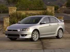 2012 Mitsubishi Lancer DE 4dr Front-wheel Drive Sedan