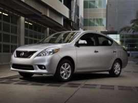 2012 Nissan Versa 1.6 S 4dr Sedan