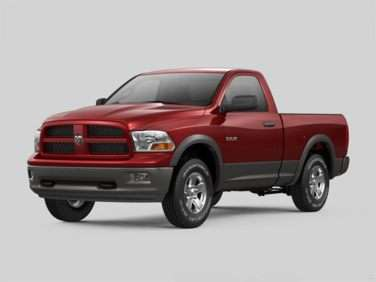 2012 RAM 1500 ST 4x4 Regular Cab 8' Box