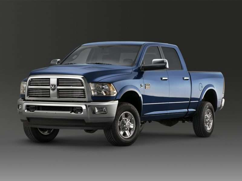 Research the 2012 RAM 2500