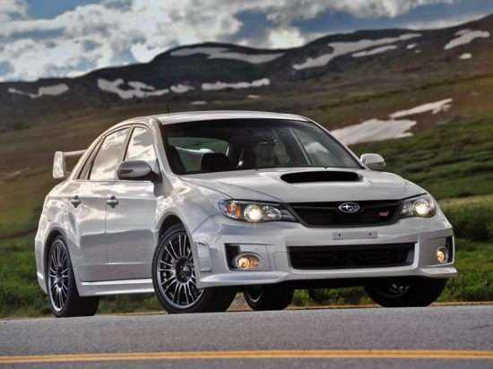 2012 Subaru Impreza WRX STi Limited Sedan