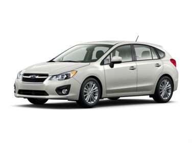 2012 Subaru Impreza WRX Limited (M5) Hatchback