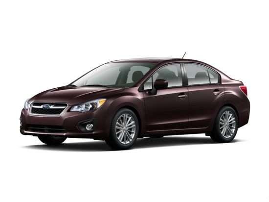 2012 Subaru Impreza WRX Premium (M5) Sedan