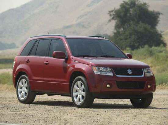 2012 Suzuki Grand Vitara Premium (A4) 4x2
