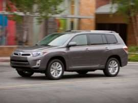2012 Toyota Highlander Hybrid Base V6 4dr All-wheel Drive