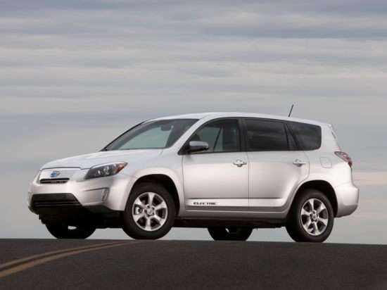 2012 Toyota RAV4 EV Video Review
