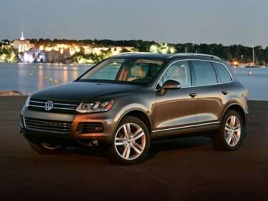 2012 Volkswagen Touareg TDI Sport With Navigation w/o Rearview Camera