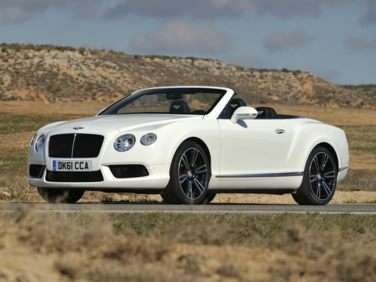 2013 Bentley Continental GTC