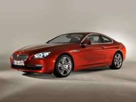 2013 BMW 640 i 2dr Rear-wheel Drive Coupe