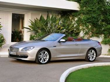 2013 BMW 650 RWD Convertible